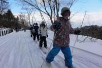 歩くスキー(クロスカントリースキー)